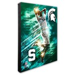 Photo File Michigan State University Player Stretched Canvas Photo