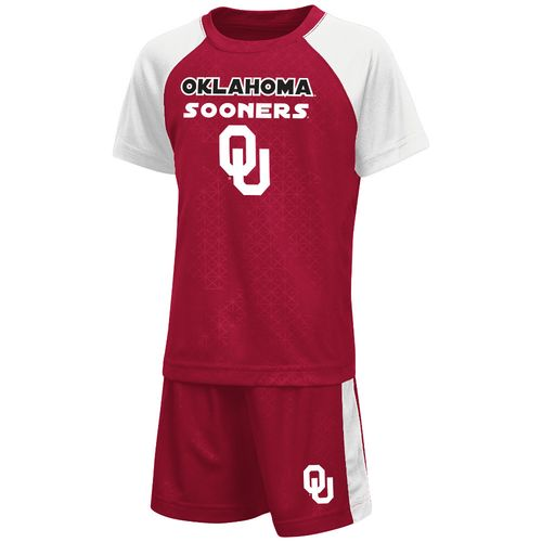 Colosseum Athletics Toddler Boys' University of Oklahoma Gridlock Set