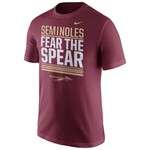 Nike Men's Florida State University Verbiage Short Sleeve T-shirt