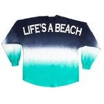 Above Wings™ Adults' Wing Back™ Life's A Beach Long Sleeve Shirt