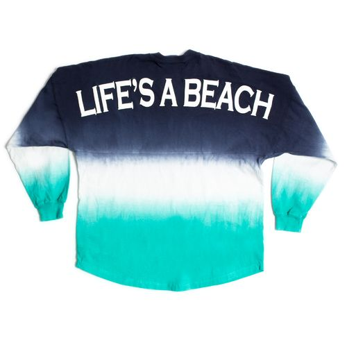 Above Wings Adults' Wing Back Life's A Beach Long Sleeve Shirt