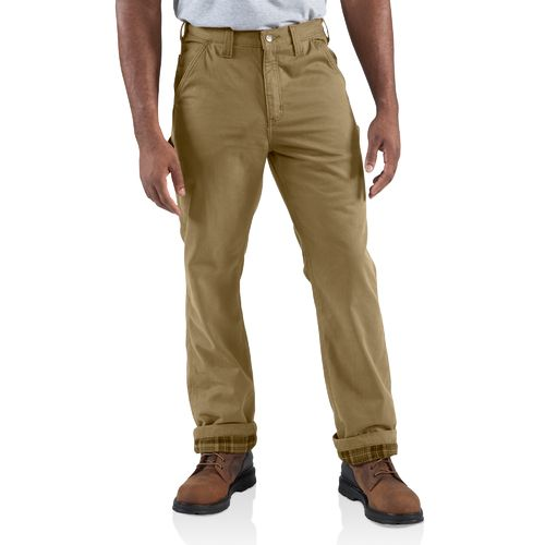 Display product reviews for Carhartt Men's Washed Twill Flannel Lined Dungaree