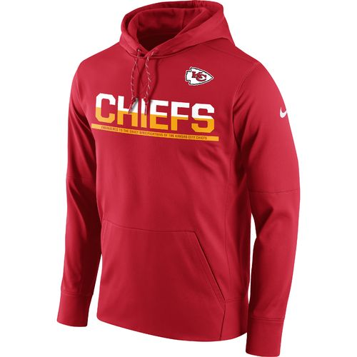 Nike Men's Kansas City Chiefs Circuit Pullover Hoodie