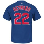 Majestic Men's Chicago Cubs Jason Heyward #22 T-shirt