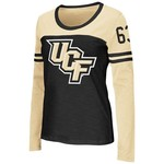 Colosseum Athletics™ Women's University of Central Florida Hornet Football Long Sleeve T-sh