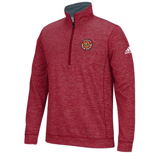 adidas™ Men's University of Louisiana at Lafayette climawarm™ Team Issue 1/4 Zip Pullo