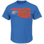 Majestic Men's Oklahoma City Thunder Player State Outline T-shirt