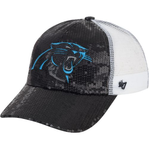 '47 Carolina Panthers Women's Dazzle Mesh Clean-Up Cap