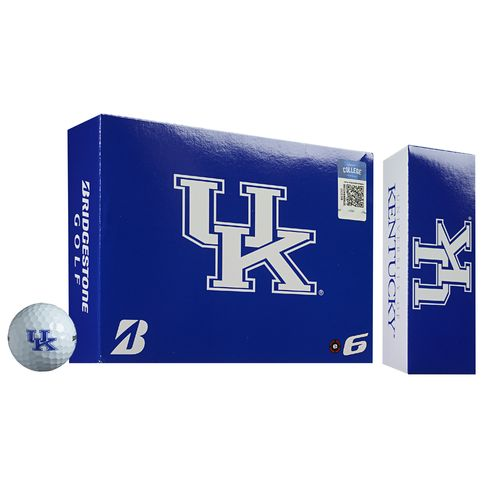 Bridgestone Golf University of Kentucky e6 Golf Balls 12-Pack