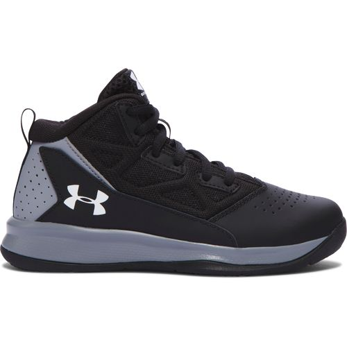 Under Armour Boys' BPS Jet Mid-Top Basketball Shoes