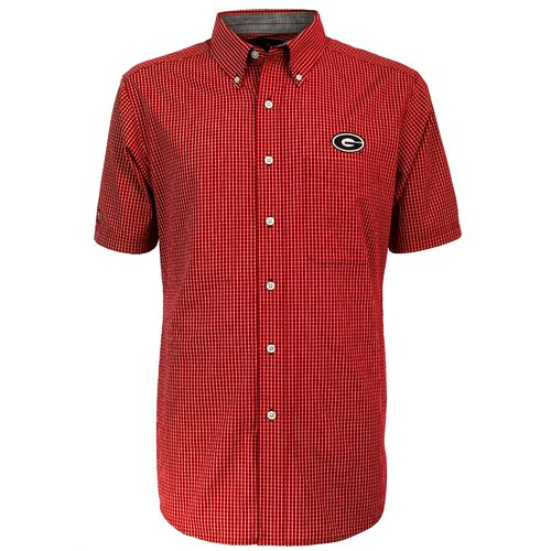 Antigua Men's University of Georgia League Dress Shirt