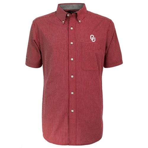Antigua Men's University of Oklahoma League Dress Shirt