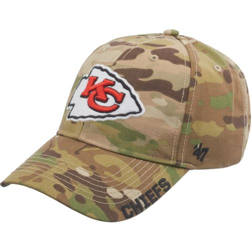 '47 Kansas City Chiefs Myers Camo MVP Cap