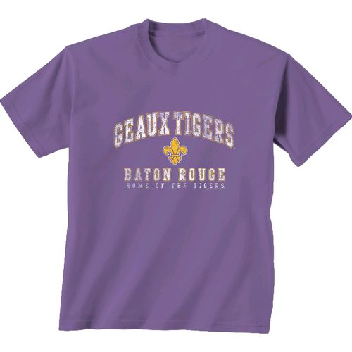 New World Graphics Men's Louisiana State University Local Phrase T-shirt