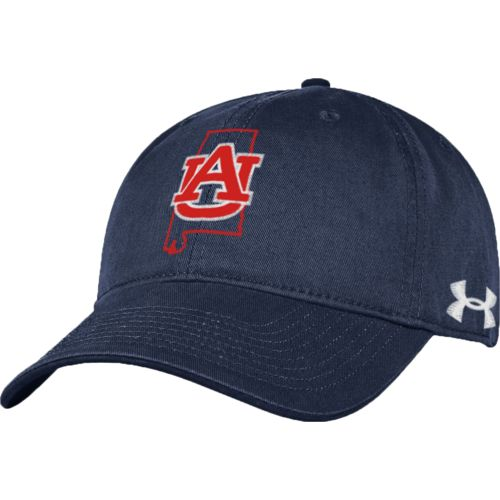 Under Armour™ Men's Auburn University Garment Washed Cap