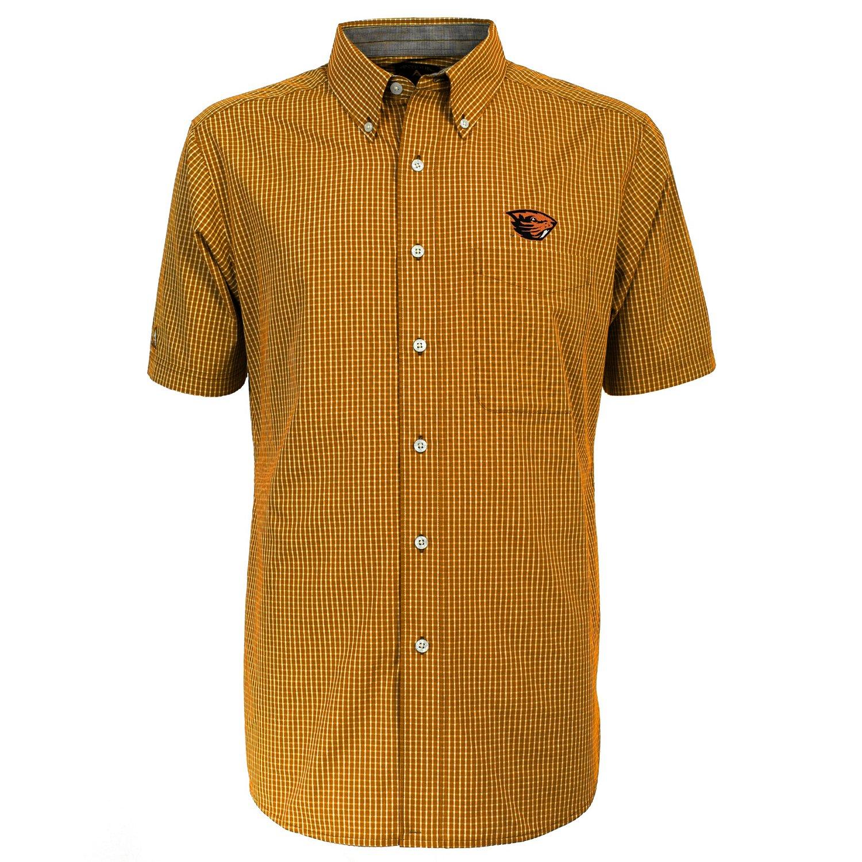 Antigua Men's Oregon State University League Short Sleeve Shirt - view number 2
