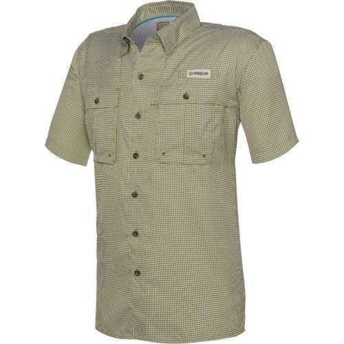 Magellan Outdoors™ Men's Aransas Pass Short Sleeve Gingham Fishing Shirt