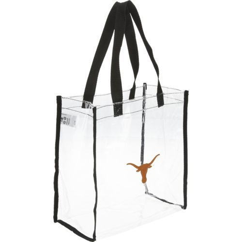 Team Beans University of Texas Clear Reusable Bag