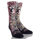 Rock 'Em Apparel Men's Florida State University Feathers Socks