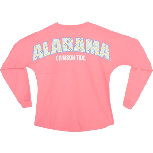 Boxercraft Women's University of Alabama Coral Pom Pom Jersey