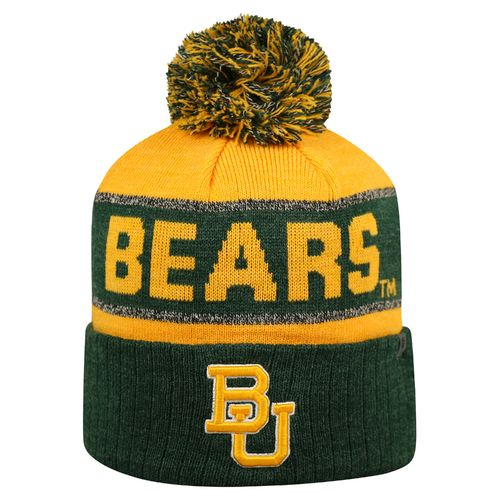 Top of the World Men's Baylor University Below Zero Cuffed Knit Cap