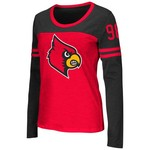 Colosseum Athletics™ Women's University of Louisville Hornet Football Long Sleeve Shirt
