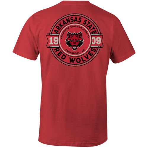 Image One Men's Arkansas State University Rounds Comfort Color T-shirt