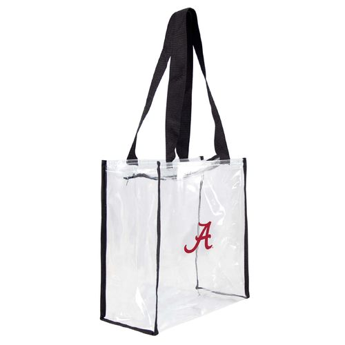 Little Earth Productions University of Alabama Clear Stadium Tote Bag