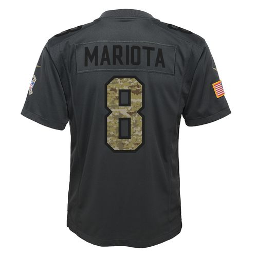 Nike Boys' Tennessee Titans Marcus Mariota Salute to Service Replica Jersey - view number 1