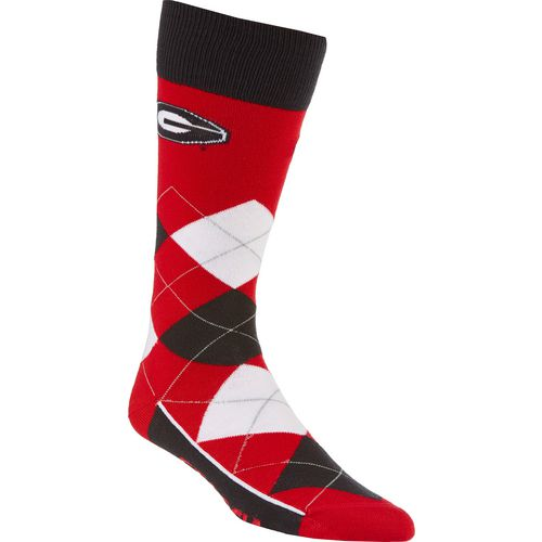 FBF Originals Adults' University of Georgia Team Pride Flag Top Dress Socks