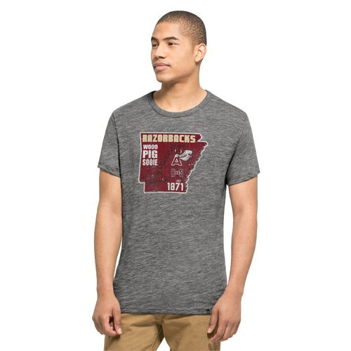 '47 University of Arkansas State Outline Multilogo Field House T-shirt