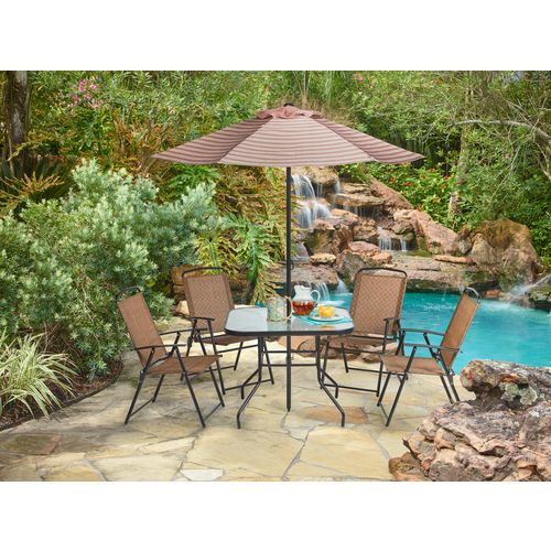 Mosaic 6-Piece Folding Patio Set - view number 2
