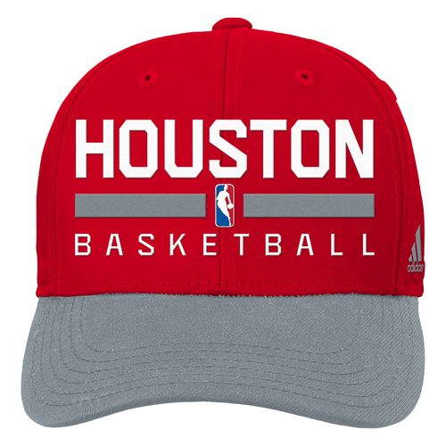 adidas™ Boys' Houston Rockets Structured Adjustable Cap