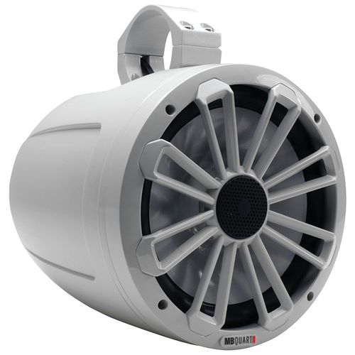 "MB Quart Nautic Series 140W 8"" 2-Way Wake Tower Marine Speaker"