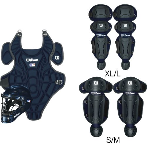 Wilson Kids' EZ Catcher's Gear Kit