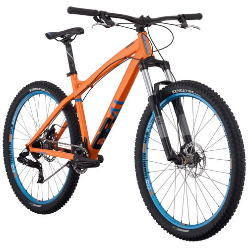 "Diamondback Adults' Hook 27.5"" 8-Speed Progressive Trail Mountain Bike"