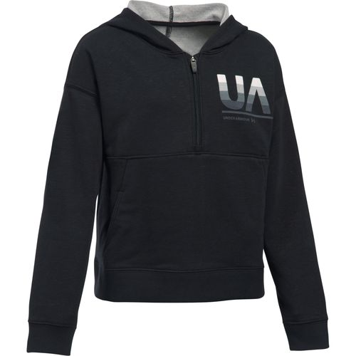 Under Armour Girls' French Terry Hoodie