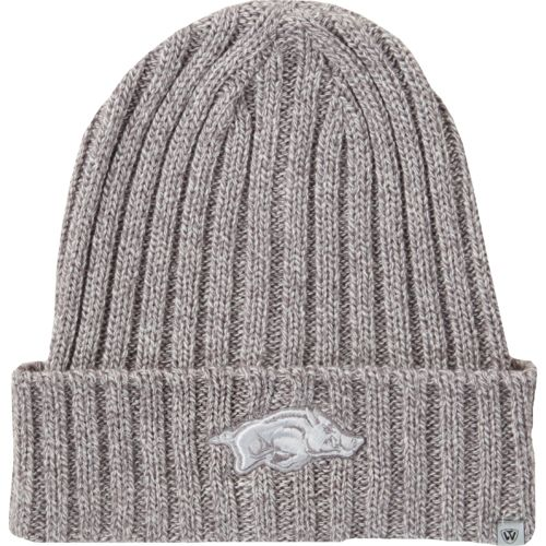 Top of the World Men's University of Arkansas Two Below Cuffed Knit Cap