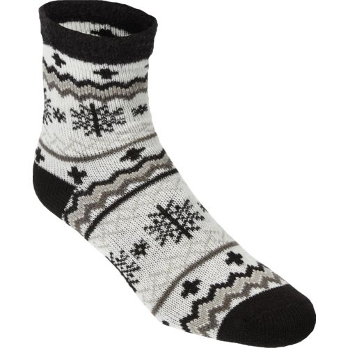 Sof Sole™ Women's Fireside Indoor Snowflake Crew Socks
