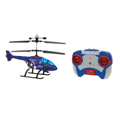 World Tech Toys Marvel Captain America Shaped IR Helicopter - view number 1
