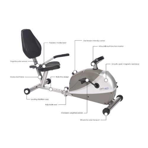 Stamina® Programmable Magnetic 4825 Exercise Bike - view number 9