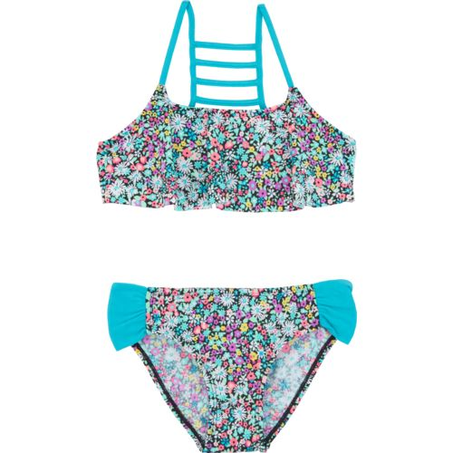 O'Rageous Kids Girls' Itsy Ditsy Bikini Swimsuit
