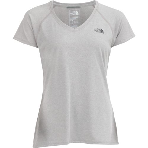 The North Face Women's Reaxion Amp Short Sleeve V-neck T-shirt