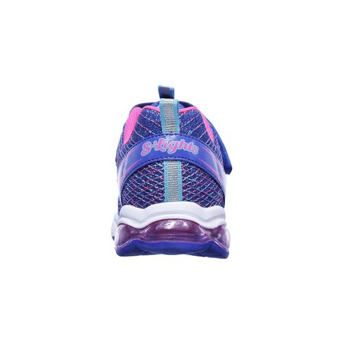 SKECHERS Girls' Air Lites Glimmer Lights Shoes - view number 4