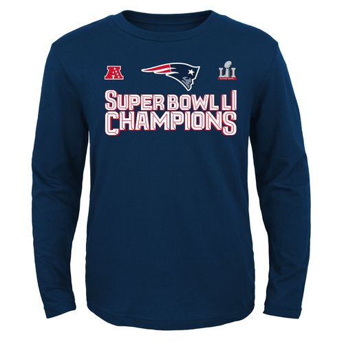Outerstuff Youth New England Patriots Super Bowl LI Champions Etched In Stone T-shirt