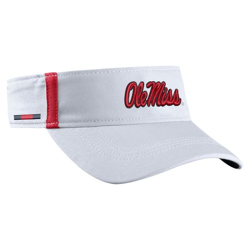 Nike Men's University of Mississippi AeroBill Sideline Visor - view number 3