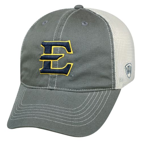 Top of the World Men's East Tennessee State University Putty Cap