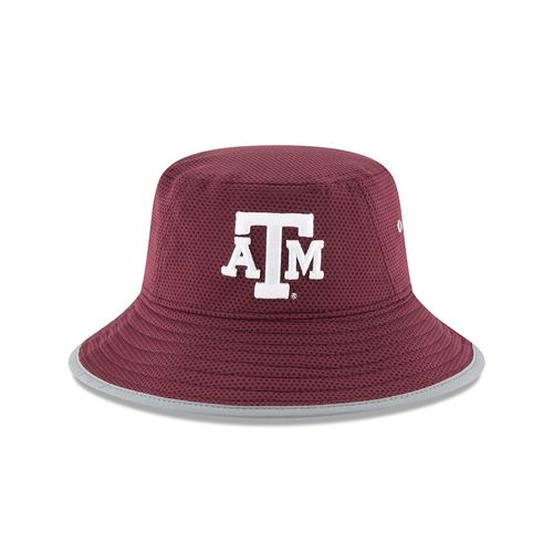 New Era Men's Texas A&M University Team Training Bucket Hat - view number 6