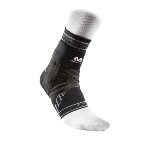 McDavid Elite Engineered Elastic Ankle Brace with Figure-6 Strap and Stays