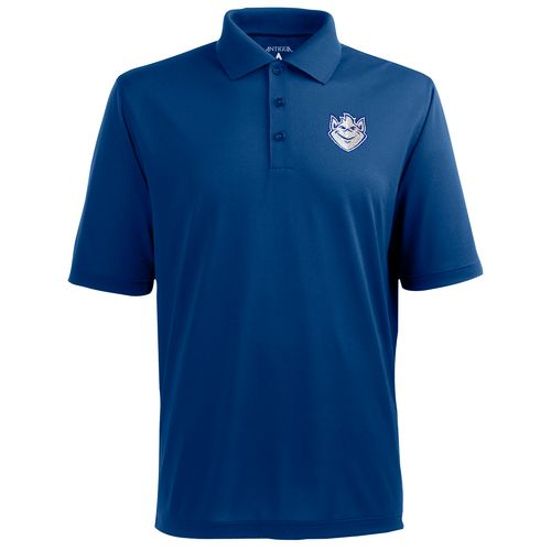 Antigua Men's Saint Louis University Pique Xtra-Lite Polo Shirt